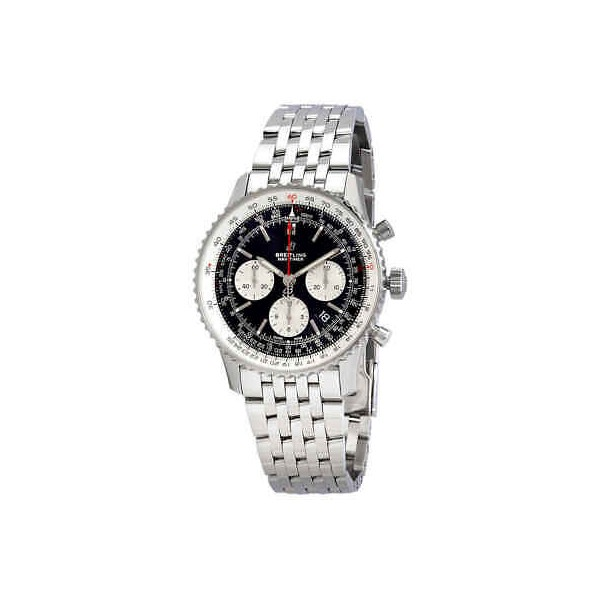 Breitling Navitimer 1 Chronograph Automatic Chronometer Silver Men's Watch