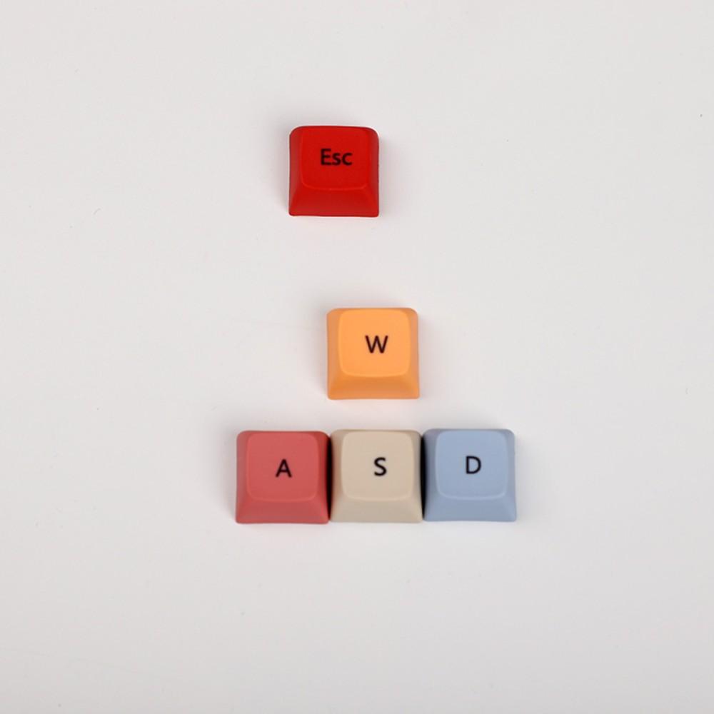 XDA 프로파일 핫픽스 pbt esc wsad 키캡 방향키 RGB 기계식 키보드 포인트 키캡, esc+wasd