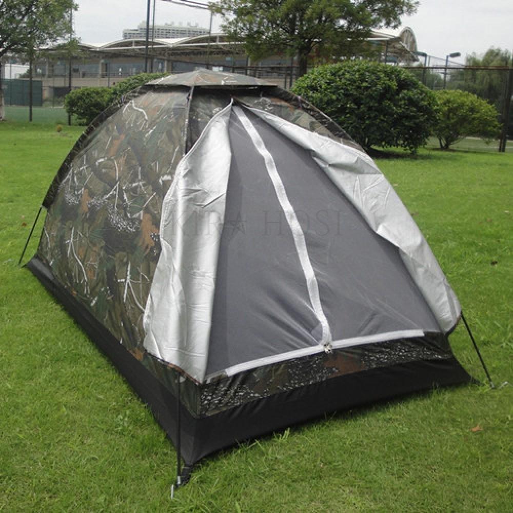 kirahosi 야외레저 1인용 낚시투어 캠핑방우 1인 야외 초경량 나뭇잎 카무플라주 42호+ 덧신 증정 Ce3ubw2, 텐트, 1