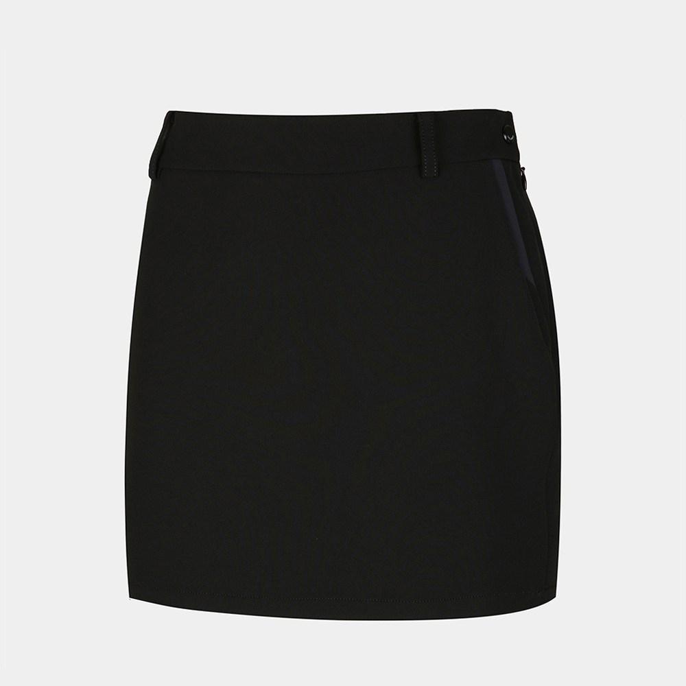 캘러웨이 여성 배색 포인트 큐롯 CWPCJ7786-199, BLACK