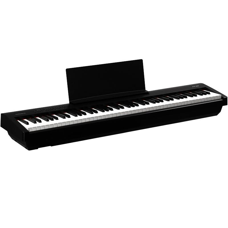 디지털피아노 Roland전기피아노 FP-30fp30블루투스 스마트 88건 프로페셔널 전자 피아노, T04-본체+단일 페달+선물보따리(유광)