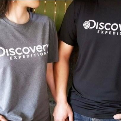 솔멀티 디스커버리 카치온 기능성 반팔티-남녀공용 반팔 티셔츠