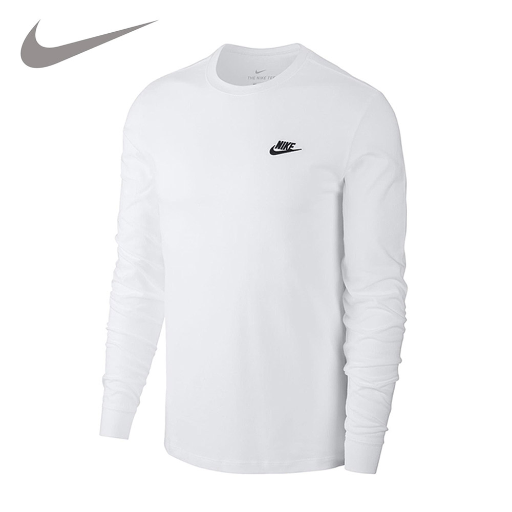 나이키 남성용 NSW 클럽 플리스 풀오버 긴팔 후드 티셔츠