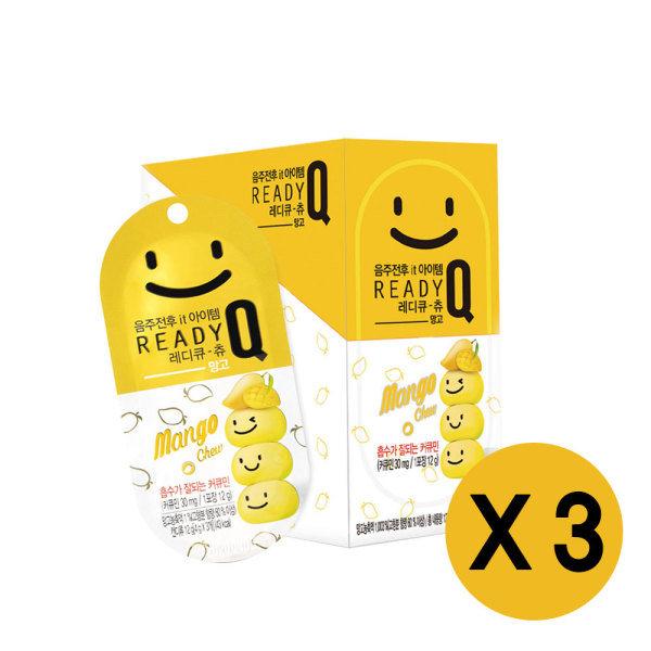 [한독] 레디큐 츄 망고맛 3입 X 10개 (3박스), 상세 설명 참조