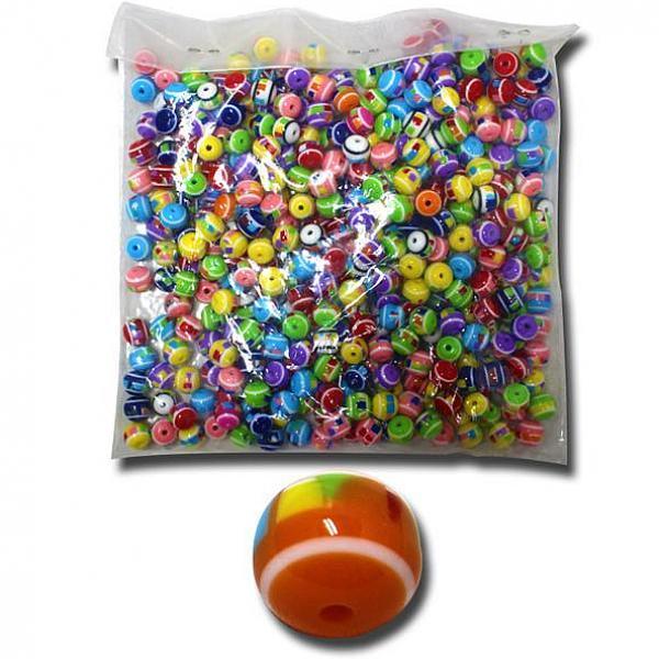 모아프라자 벌크문양자게10mm 슬라임재료 구슬꿰기 슬라임 비즈 액체괴물