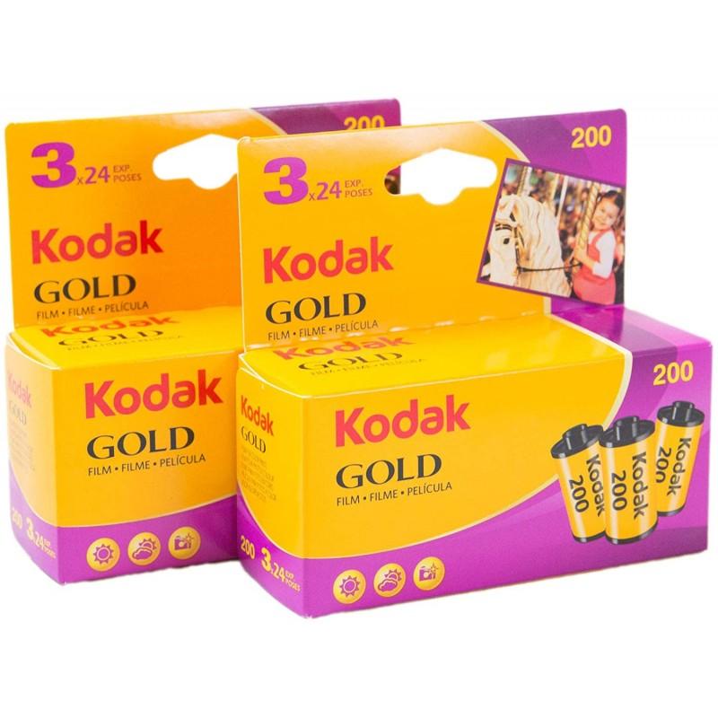 Kodak 컬러 네거티브 필름 GOLD 200 35mm 24 매 촬영 6 개 세트, 단일상품