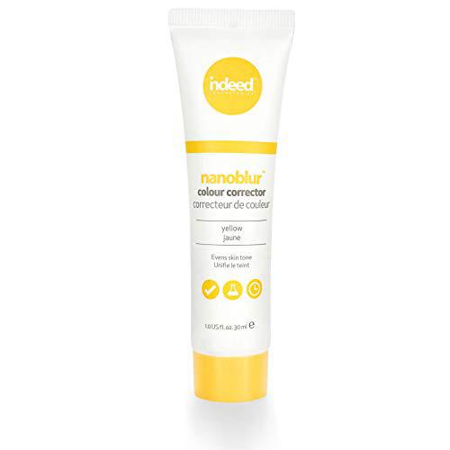 Indeed Laboratories Nanoblur Colour Corrector Yellow 1.0 fl oz (30 ml) 인디 드 래 보러 토 리즈 나노 블러 컬러 코렉터 옐, 1