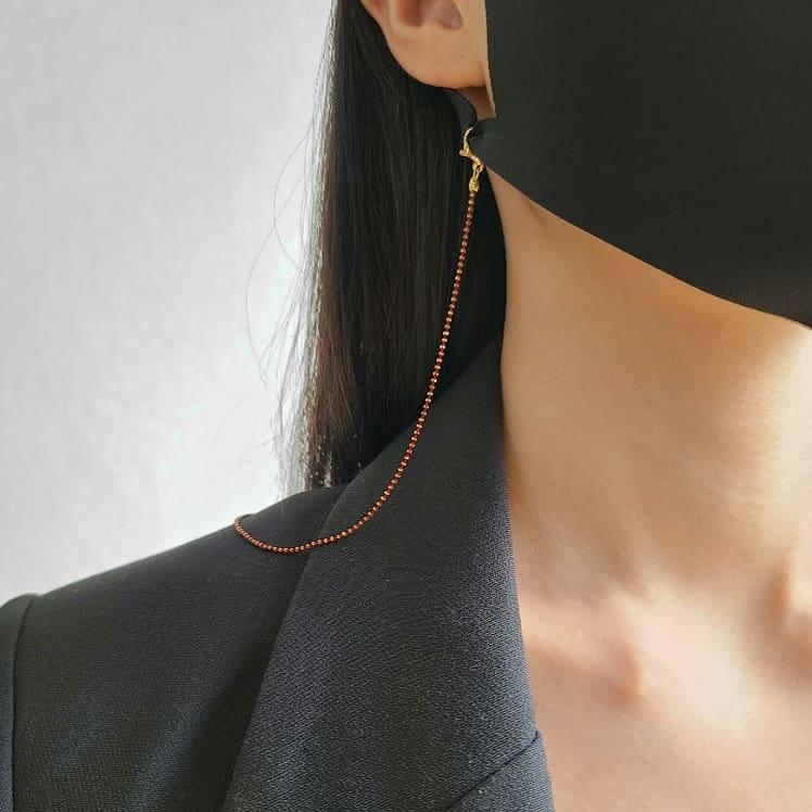 [특가당일배송] 골드고리 고급 심플 튼튼 튀지않는 남자 여자 마스크 스트랩 안경줄 분실방지
