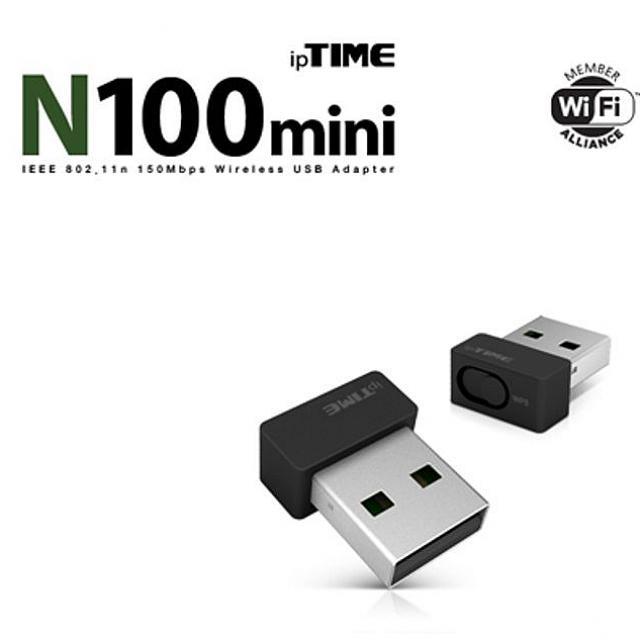 천리마마트 아이피타임 N100MINI USB 무선 랜카드 노트북용, 해당상품