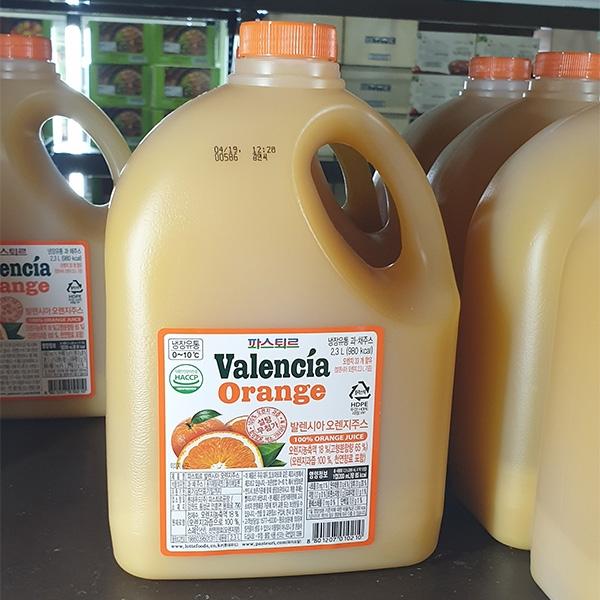 파스퇴르 발렌시아 오렌지 2.3L, 일반포장 동절기만