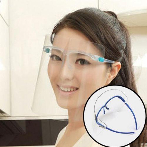 Paul Larna 비말차단용 투명 페이스 쉴드 안면보호 마스크 안경테 포함, 단품, 단품