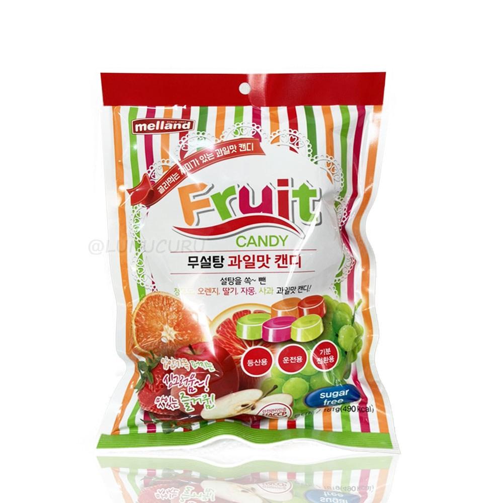 멜랜드 당뇨간식 무설탕 과일맛 캔디, 1봉, 92g