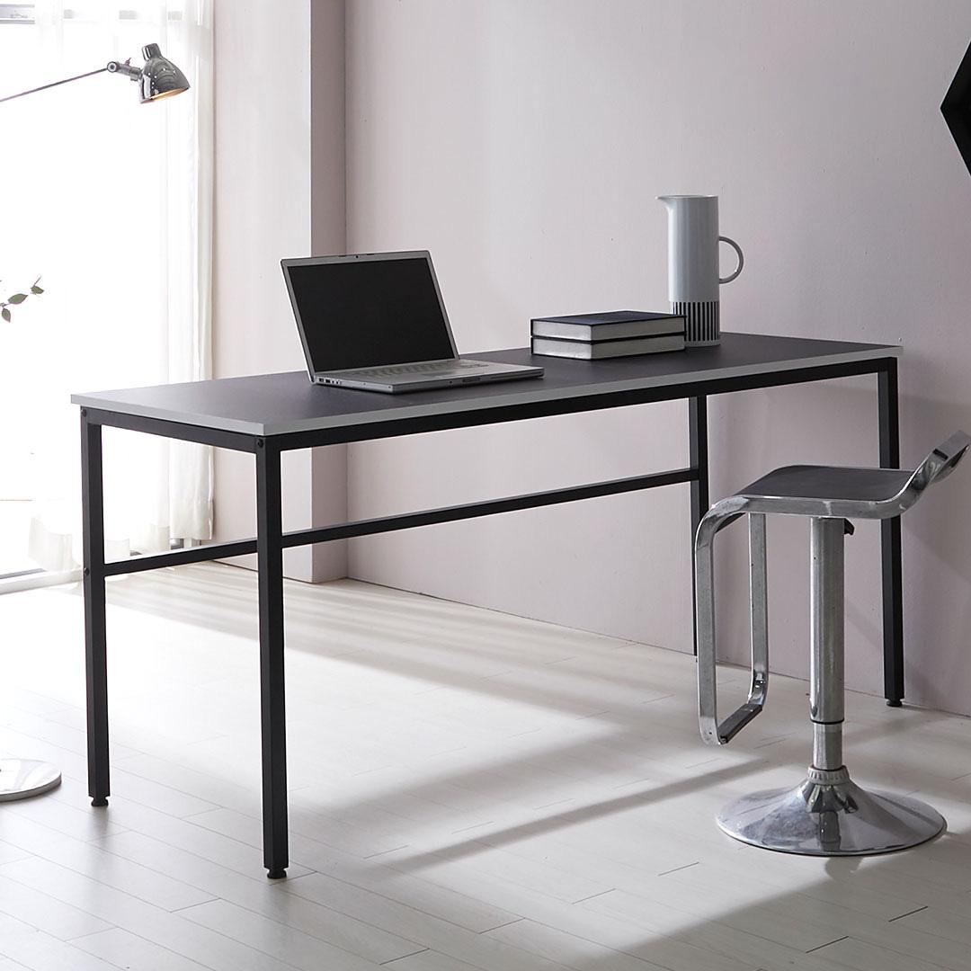 가이온 리온 1600 스틸 책상, 블랙