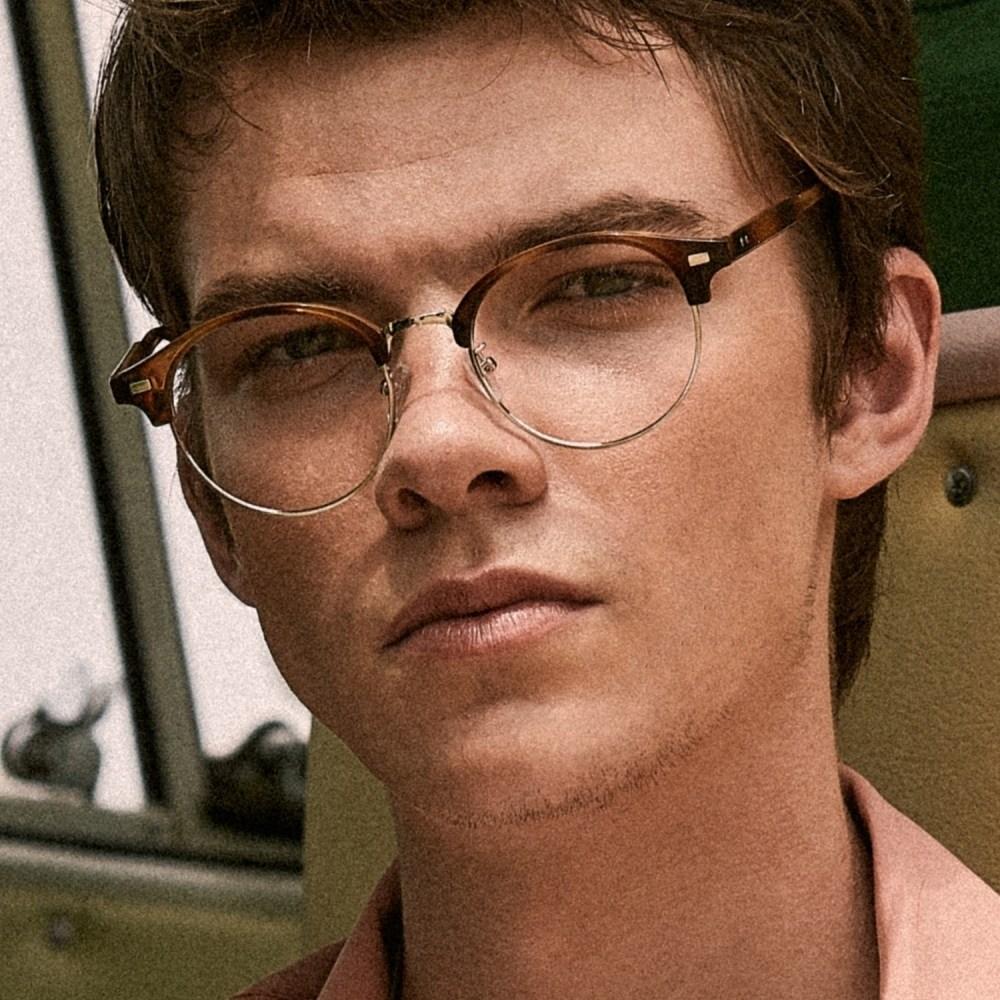GRACE leopard 안경테 고르는법 색깔 안경점 색