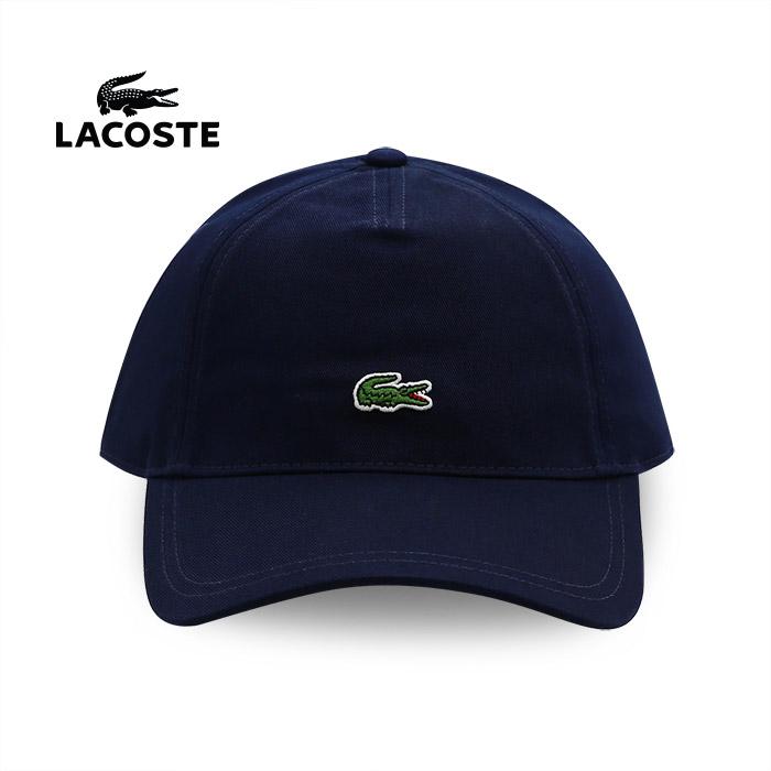 라코스테 스몰 크록 스트랩백 캡 모자 (RK486351-166), 네이비계열