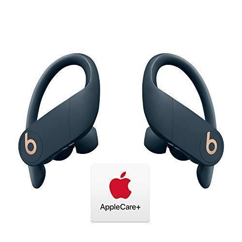 파워비츠 프로 총 무선 이어폰 - 애플 H1 칩 - 네이비 애플케어+ 번들 묶음, 상세내용참조