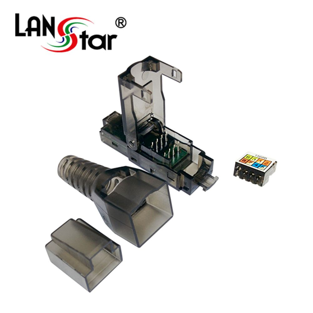 두바이_Tooless 콘넥터 CAT.6A CAT.7 RJ45 UTP 10G 랜선 랜모듈러 랜선잭 랜케이블잭 랜공사자재+dui11, 맘에들어요, 맘에들어요