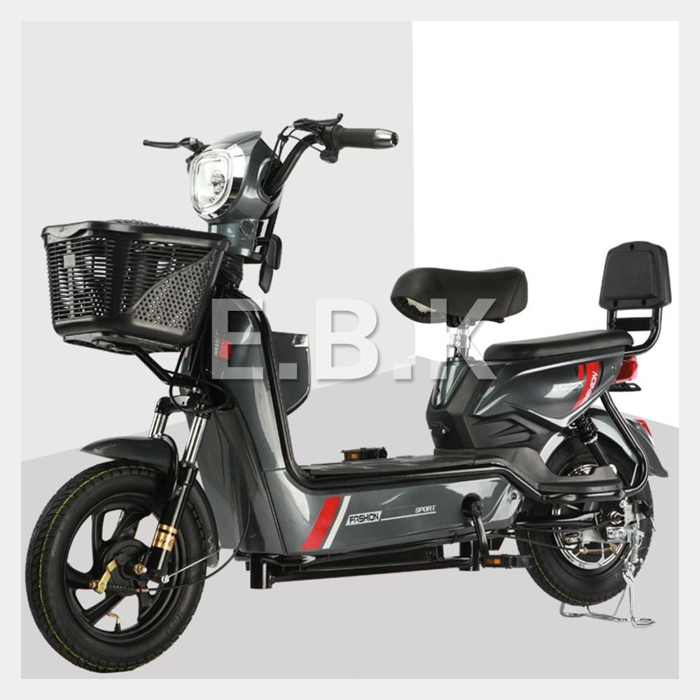 전기 자전거 2020 최신형 GX 2인용 48V 12A_20A 350W 전동스쿠터 납산 리튬배터리 주문즉시 공장출고 2일내선적 전동 스쿠터 모터 배터리1년보증 추가 배터리 구입가능, 다크그레이