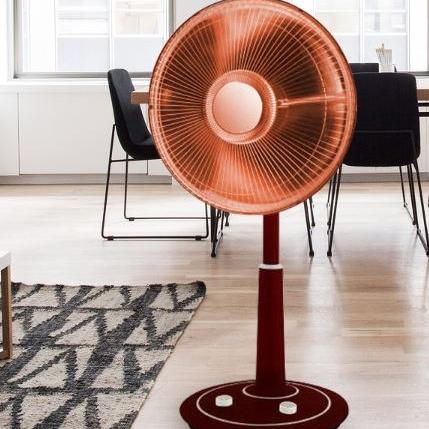 전기히터 선풍기히터 가정용난방기 사무실 욕실 난방기 선풍기형 히터, 1.선풍기형전기히터(900W)