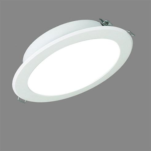 국산 LED 다운라이트 6인치 15W 매입 매립 슬림 직부 전등 천정 천장 상가 인테리어, 주광색 (흰색)