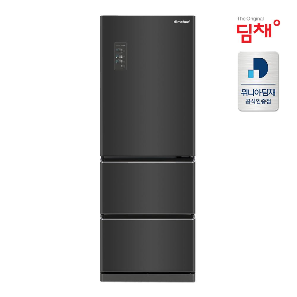 딤채 [으뜸효율10%환급] 20년형 1등급 스탠드 김치냉장고 EDT33DFRZB 공식판매점 스탠드형