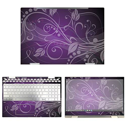 decalrus - Protective Decal Floral Skin Sticker for HP Envy/13641809, 상세내용참조