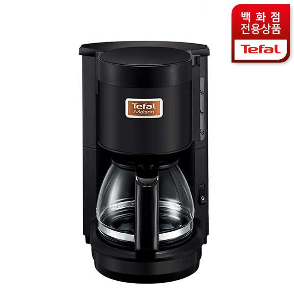 [현대백화점]테팔 커피메이커 메종 블랙_CM170MKR, 단일속성