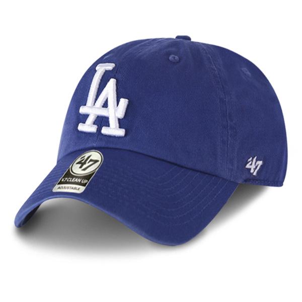 MLB 모자 47브랜드 클린업 LA 다저스 블루