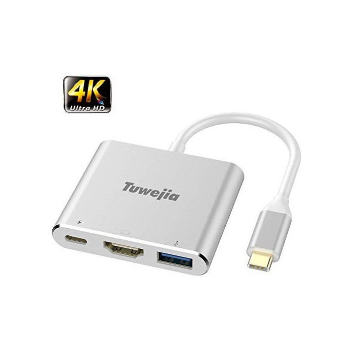 애플어댑터 USB C to HDMI Multiport Adapter Tuwejia