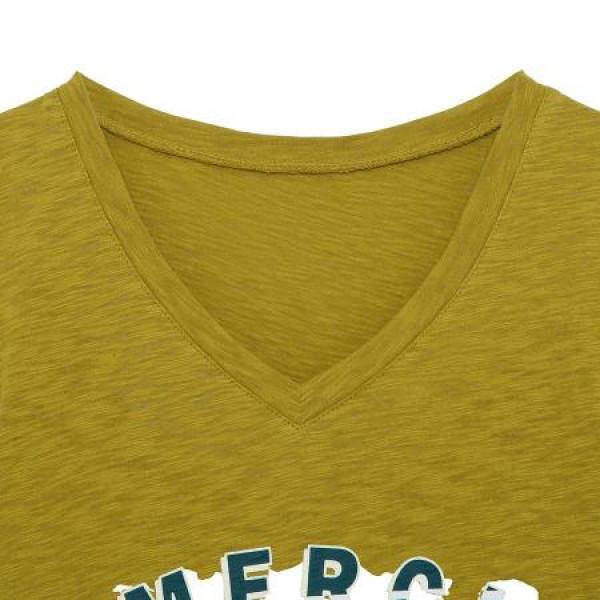 씨 씨 코튼 반팔 티셔츠 SAIBE2835