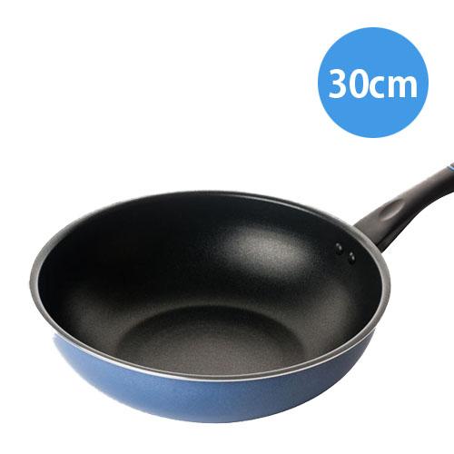 마이쉐프 퓨어라이트 애쉬블루 IH웍(궁중팬), 30cm