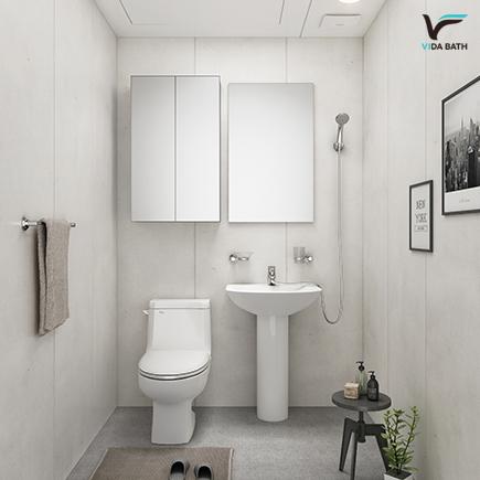 비다바스 세미 욕실 리모델링패키지, 1세트