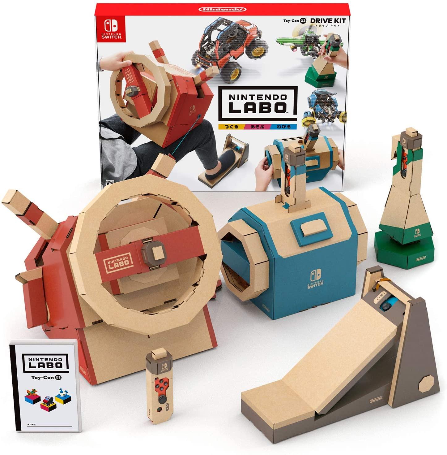 1.예상수령일 2-6일 이내 닌텐도 Nintendo Labo (닌텐도 연구소) Toy-Con 03 : Drive Kit - Switch B07GZP, 상세 설명 참조0