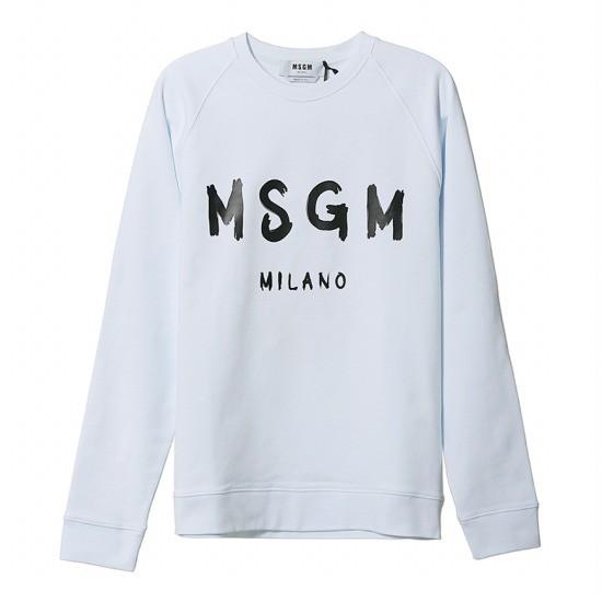 MSGM 로고 맨투맨 2840MM104 207099 01