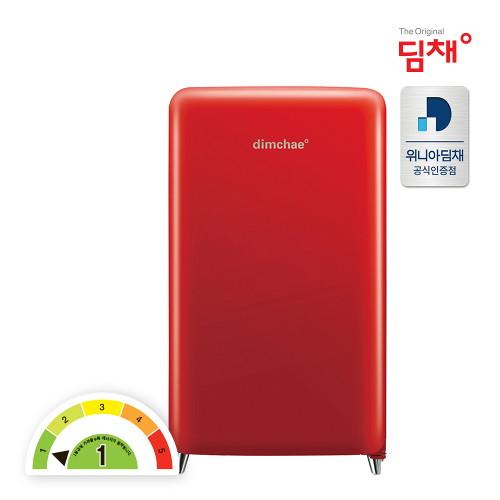 딤채 [전국무료설치] 20년형 쁘띠 김치냉장고 WDS10DPACR [100리터/1룸], 단품없음