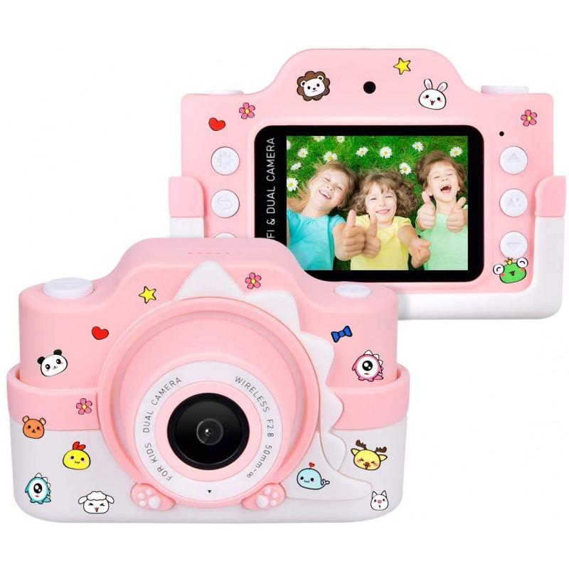 라디오 전문 어린이 카메라 와이파이 2 렌즈 24 MP HD 2.0