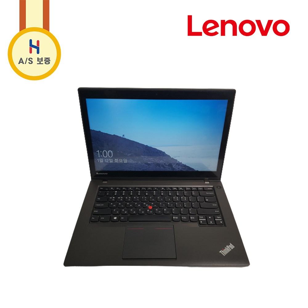 [터치스크린] 프리미엄 레노버 14인치 씽크패드 노트북(i5 CPU 램 8G SSD 업그레이드 가능), 기본사양