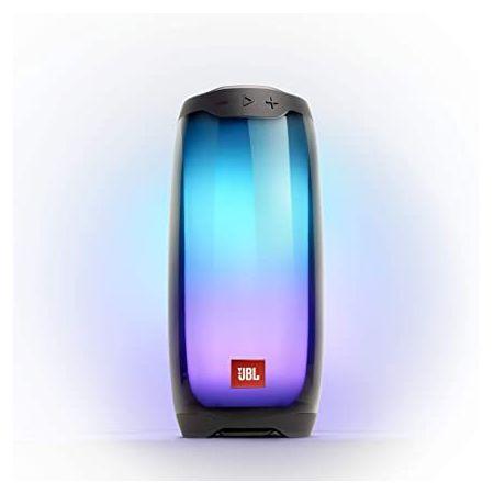 빛의 쇼와 JBL 펄스 4 방수 휴대드래곤 블루투스 스피커 - 블랙 (JBLPULSE4BLKAM) 999999232960, Black, 상세 설명 참조0