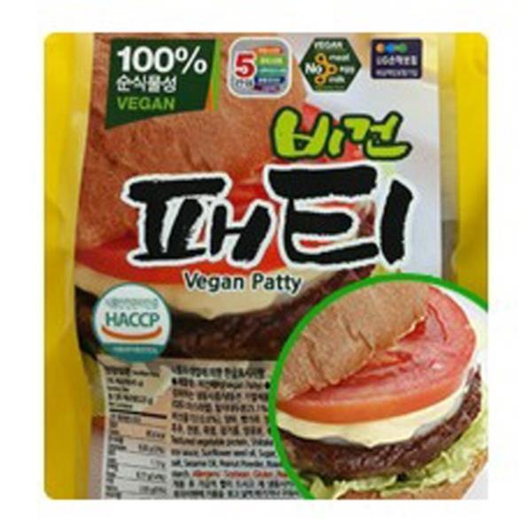 SHMARK 채식 콩과 현미로 만든 콩고기 비건패티 675g(45gX15장) 무오신채 비건푸드 채식 채식식 SHKO01ea, ▣선택▣