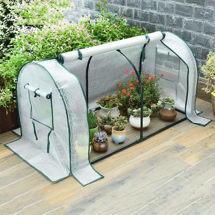 가정용 미니 비닐하우스 조립식 이동식 다육이 온실, 선택04 180x88x90cm