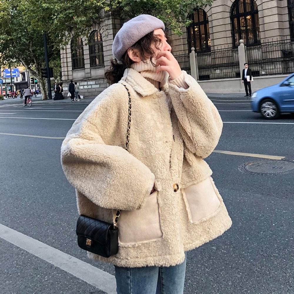 20대 30대 여성 양털자켓 겨울 양털 무스탕