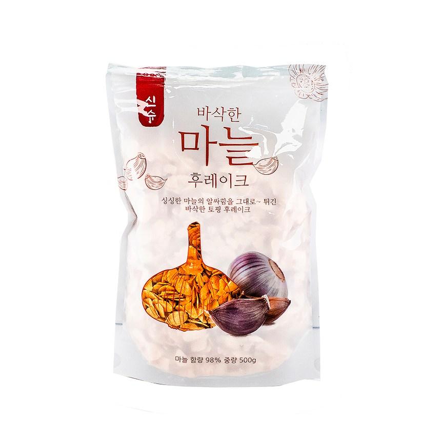 코우 마늘 튀김 슬라이스 500g 마늘칩 갈릭 후레이크, 1개