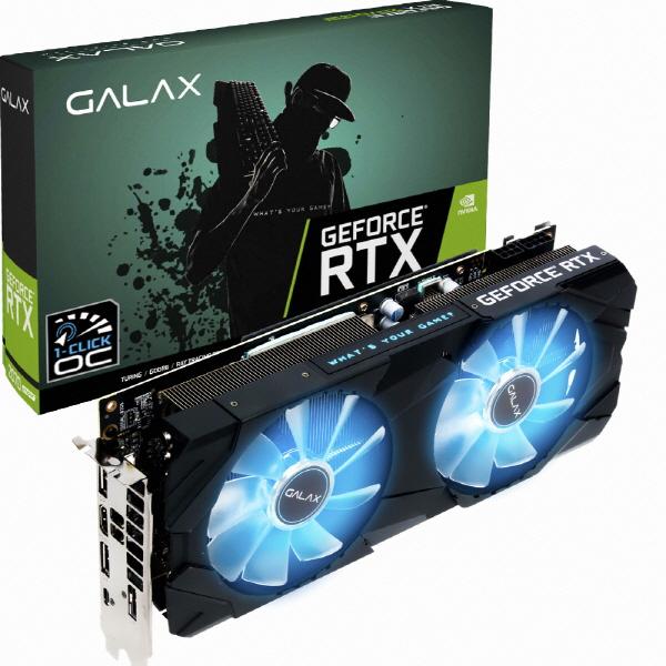 갤럭시 GALAX 지포스 RTX 2070 SUPER EX BLACK OC D6 8GB 그래픽카드, 선택하세요