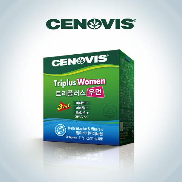 [현대백화점][세노비스] 트리플러스 우먼 (90캡슐), 단일속성, 없음