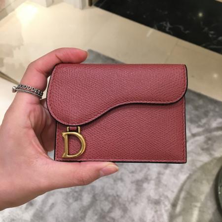 Dior [Dior] 디올 새들 카프스킨 카드 홀더 (3컬러) S5610CWVG_M50H 반지갑