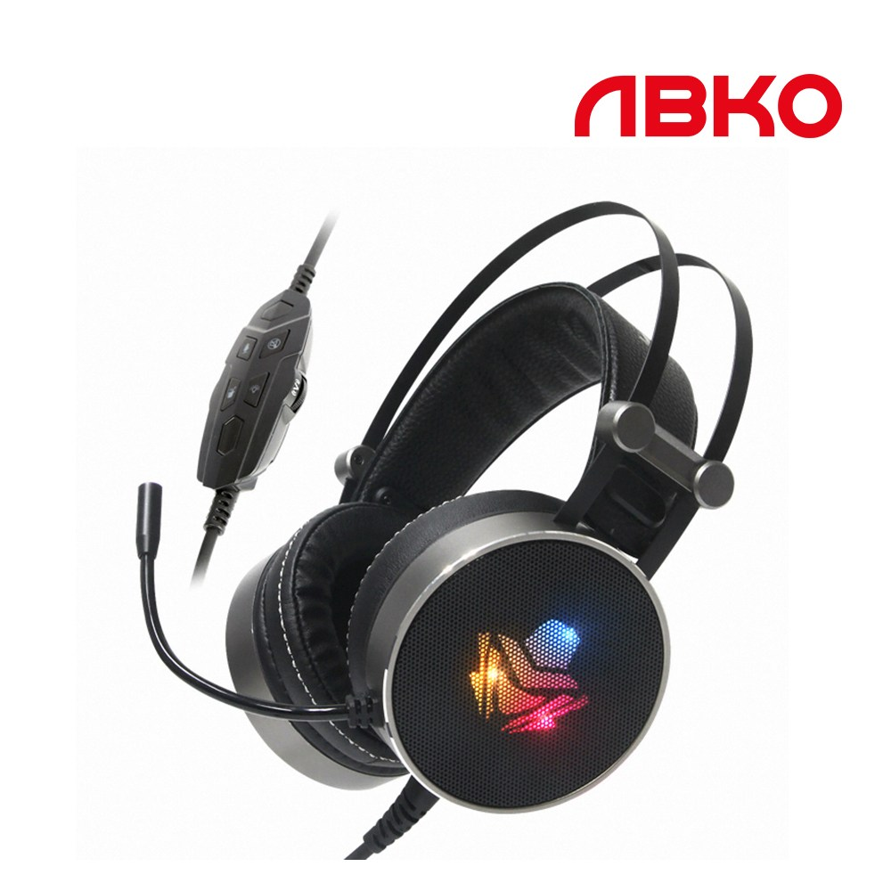앱코 HACKER B900U PLUS 음성변조 7.1 진동 게이밍 헤드셋