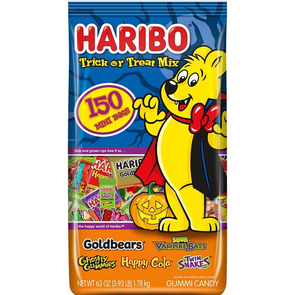 Haribo 할로윈 구미 캔디 모음 150개입 1.78kg, 단일상품