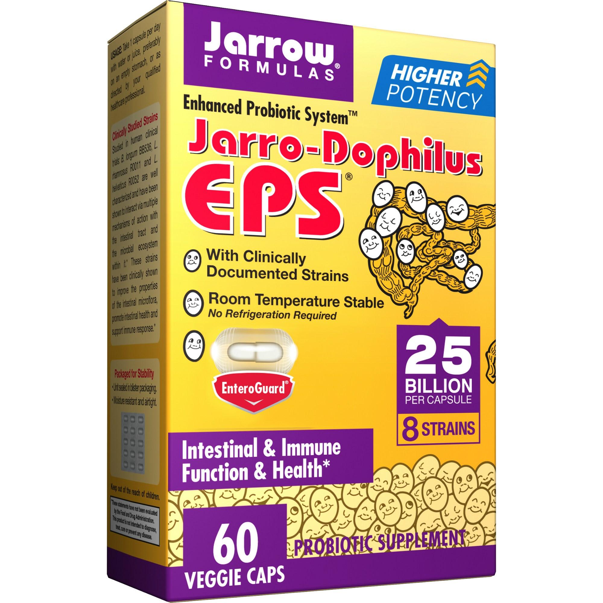 재로우 자로-도필러스 유산균 EPS 베지 캡, 60개입, 1개