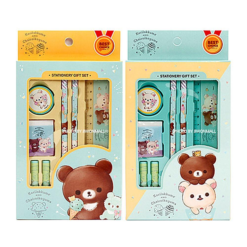 초등학교입학선물 리락쿠마 문구세트 10EA색상랜덤 단품
