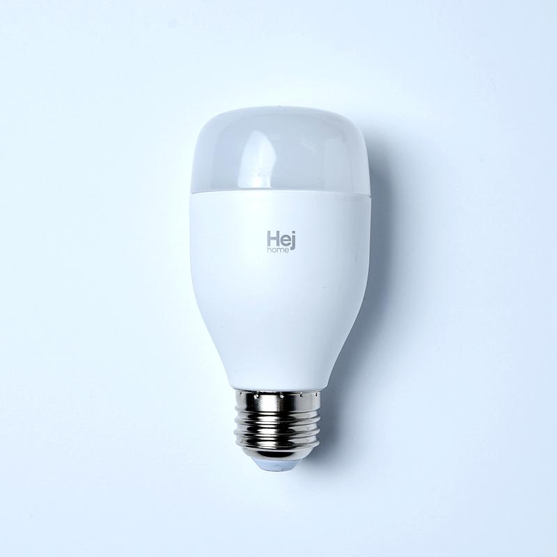 헤이홈 IoT 스마트LED 전구 밝기 색상 조절 조명 볼전구 E26, 1개, 컬러 (색상조절)